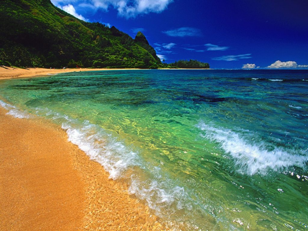 Cathedral Beach Hawaii